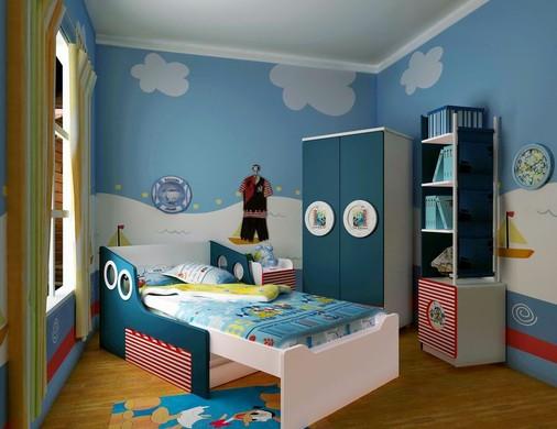 而且基于迪士尼儿童家具可以随意组装的特点