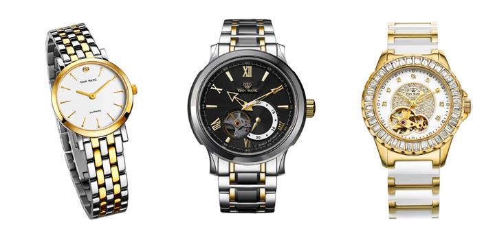 天王电子(深圳)有限公司是香港钟表巨擎伟明集团麾下的一家全资子公司,主要从事天王牌手表的研发、设计、制造和销售,是国内知名的大型钟表企业。 1988年经广东省政府以及国家工商部门批准,天王表正式创牌,公司引进瑞士先进设备,并以创一流品质、一流服务为宗旨,凭借公司多名资深设计师敏锐的市场触角和超凡创意,结合现代完美制表工艺,设计生产出18K金系列、全钨钢系列、间钨钢系列、全钢系列、多功能运动系列、自动机械系列、时尚女装系列、精密陶瓷系列和环保动能系列等多系列共几百款式的手表。并以其品质超群,造型美观