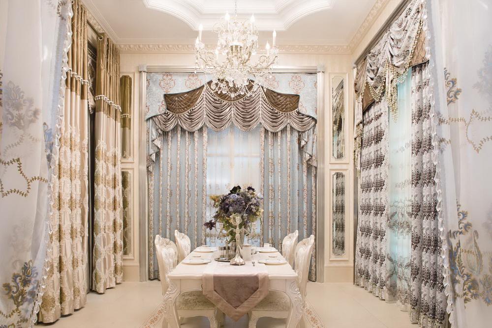 摩力克窗帘产品图片_摩力克窗帘店铺装修图片-全球