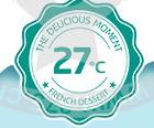27℃法式甜品