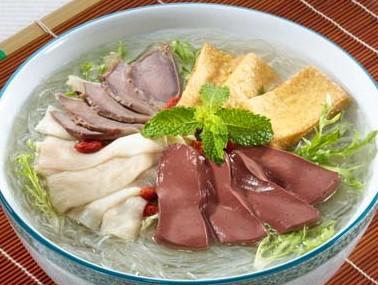 金陵鸭血粉丝汤