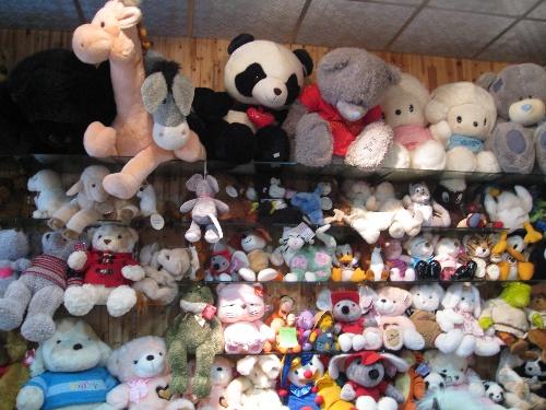毛绒玩具招商加盟店面
