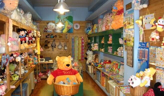 毛绒玩具代理加盟店面