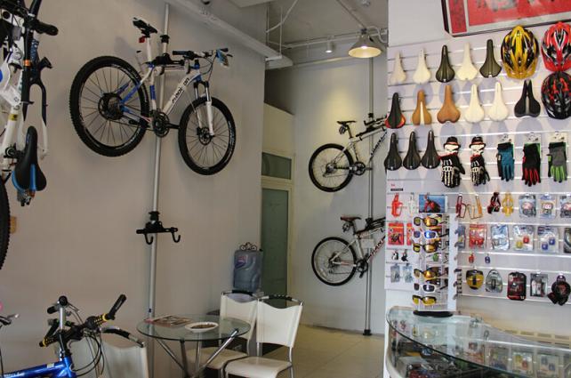 捷安特自行车加盟店面