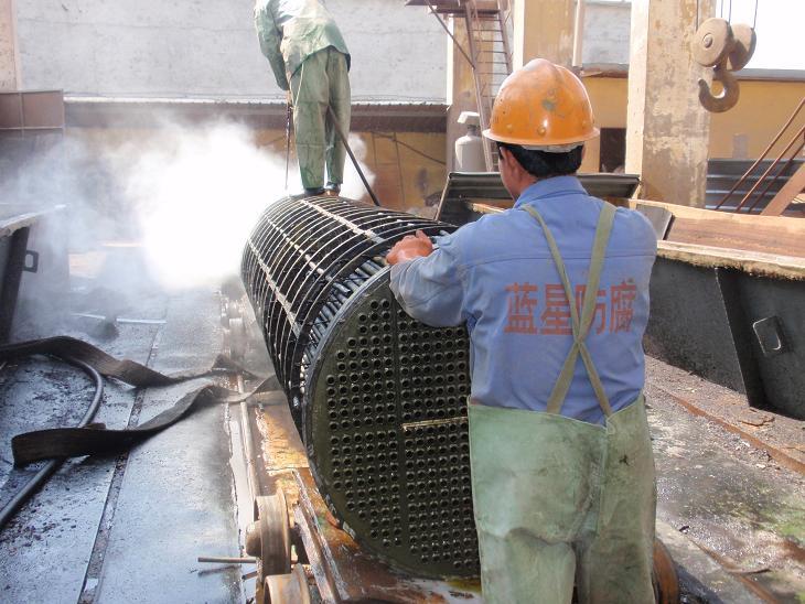 高压水射流换热器清洗