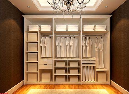 定制衣柜可制造纯正欧式