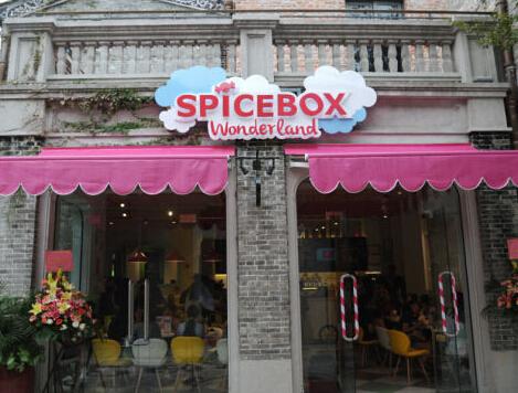 SpiceBox美国甜品门面