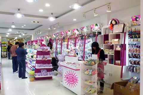 韩国饰品加盟店面