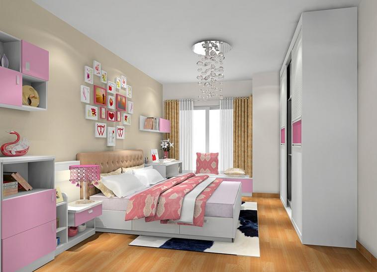 卧室衣柜设计效果图