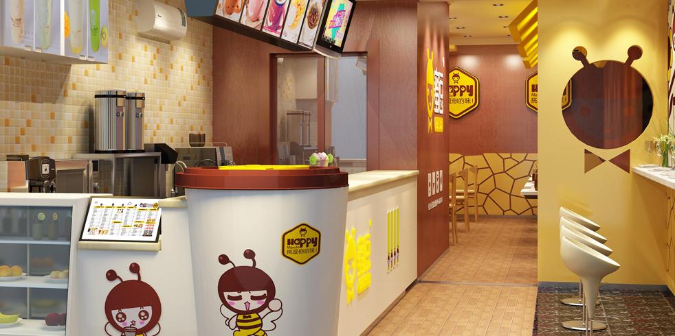 蜜逗奶茶甜品连锁加盟教您怎么装修奶茶店