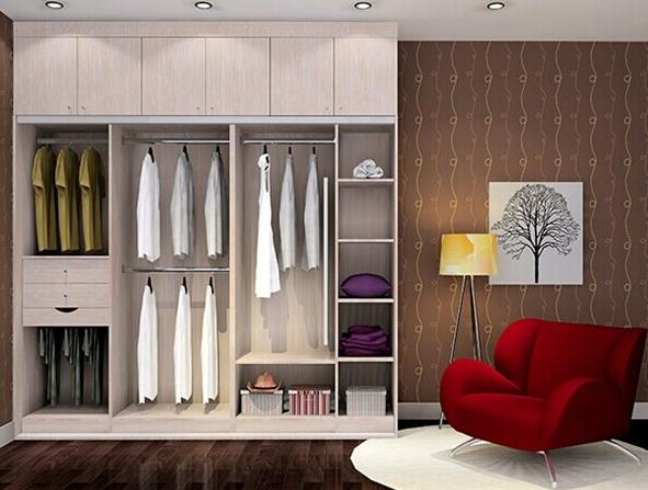 卧室整体衣柜效果图