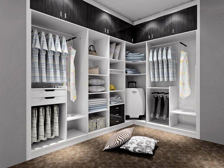 衣柜立面图细节