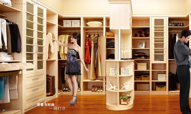 欧派衣柜不断创造和丰富整体家居内涵
