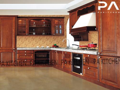 木工做的最新款整体厨柜效果图