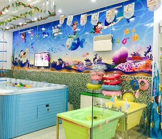 爱儿乐婴儿游泳馆加盟店面