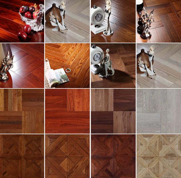 久盛地板-米蘭時光實木復合地板