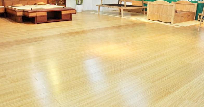 竹材板地板