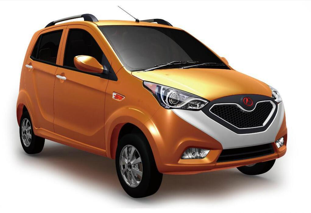 电控系统应用到国内低速电动汽车领域;2013年富路车