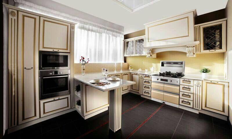 蒂米迦集成灶开放式厨房装修效果图