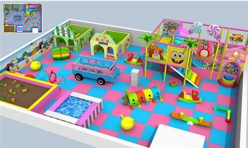 大型室内儿童乐园