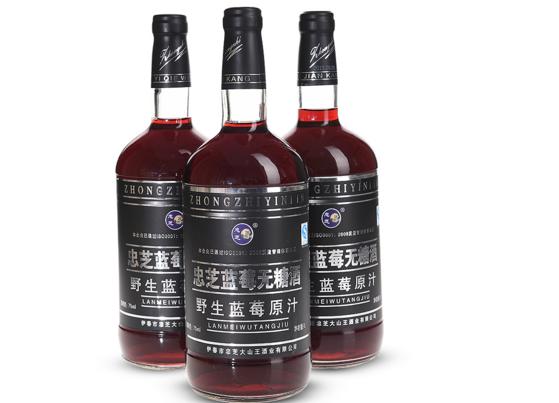 忠芝蓝莓酒