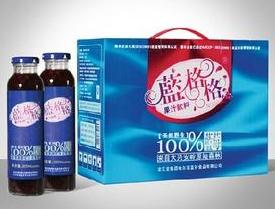 蓝格格果汁饮料