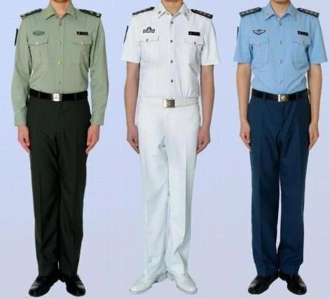 陸海空服飾
