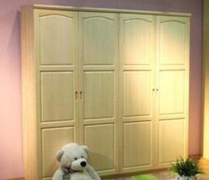 松木家具衣柜