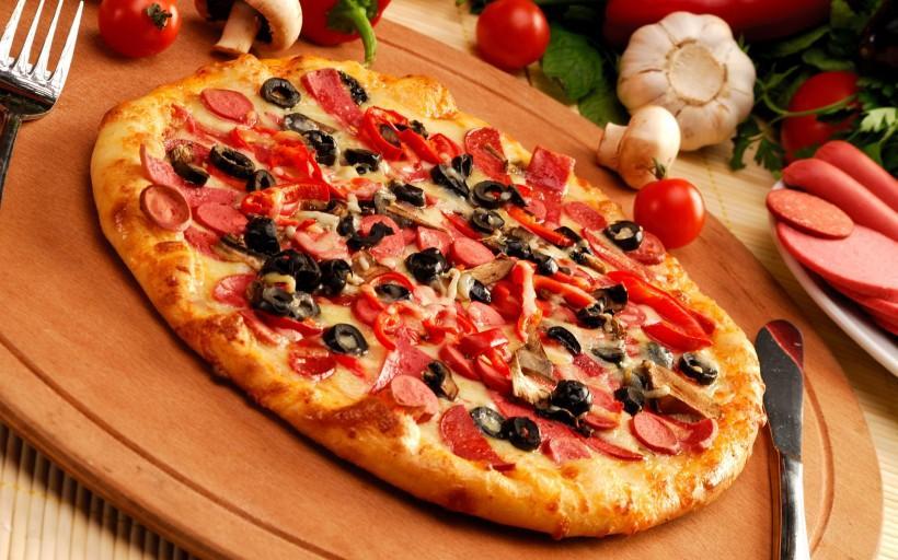 開披薩店流程