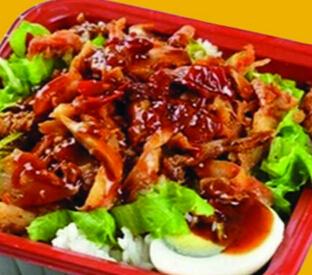 王浩泽脆皮烤肉饭