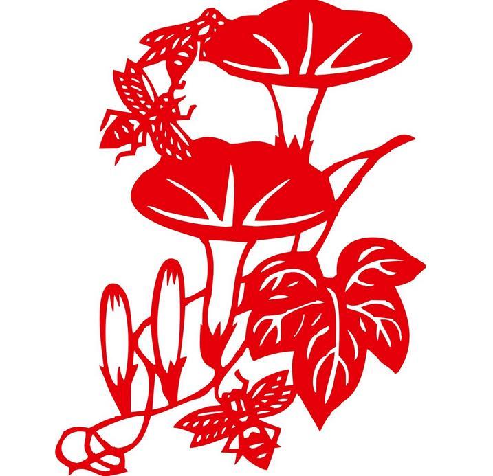 兰花花剪纸艺术