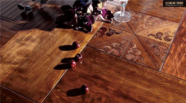 好美家地板木門