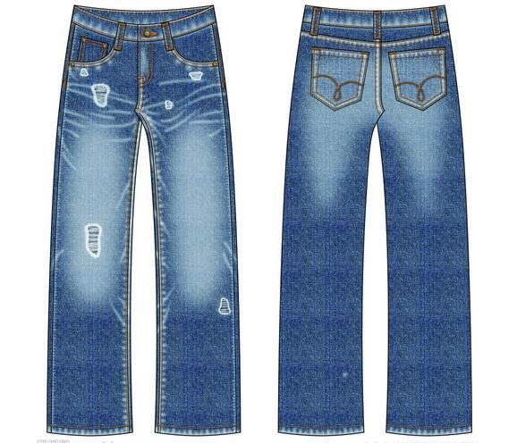 Boothiny牛仔裤