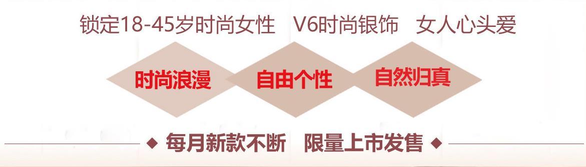 V6银饰加盟