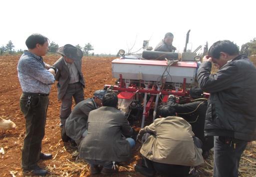 白水镇农业机械