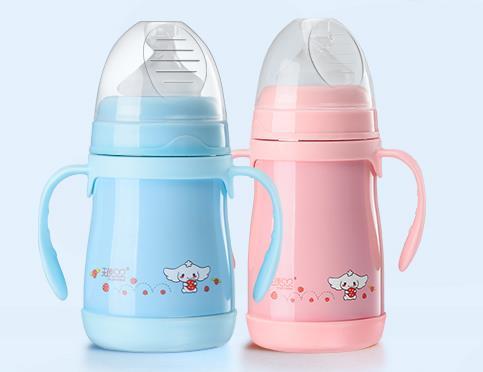 天使贝贝保温奶瓶