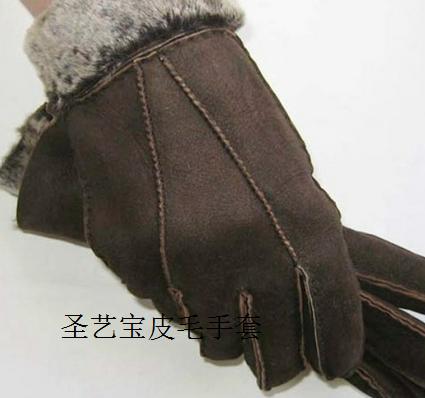 圣艺宝皮毛手套