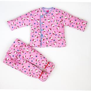 宝宝棉衣棉裤裁剪步骤图