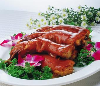 翰香原一品烤猪蹄