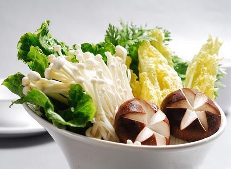 紫臺綠色蔬菜