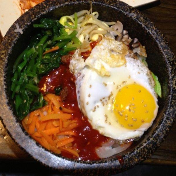 比缤巴韩国拌饭