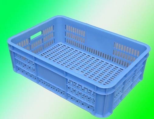 蓝一塑料面包箱