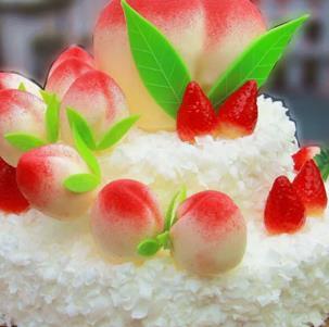 甜蜜公主diy蛋糕