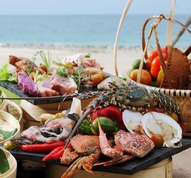竹岛海鲜小吃