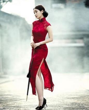 木真鸟时尚旗袍