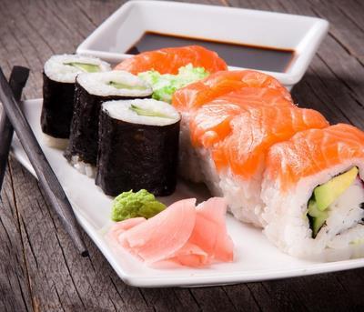 越前外带寿司小吃