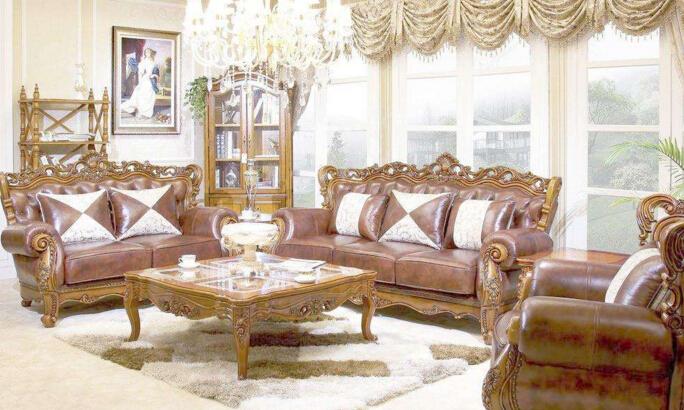 在一些高端品牌,欧式家具已经与我国传统文化元素