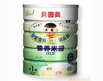 贝因美营养米粉