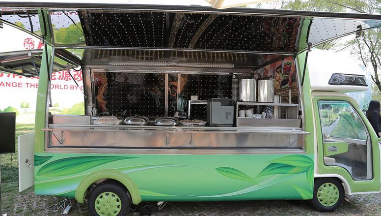 上海餐车加盟