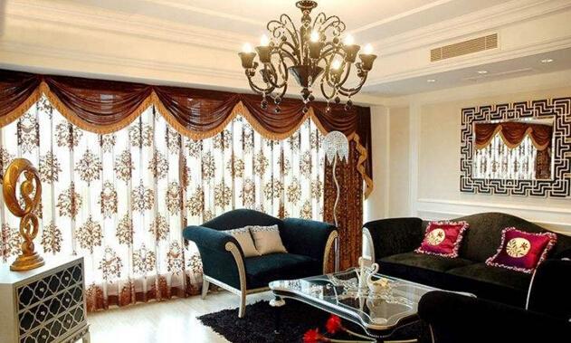 欧式家具配什么窗帘
